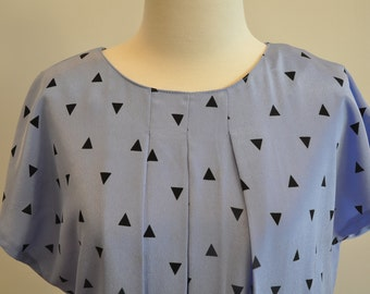 Mint condition classic 80's Geometric Dress