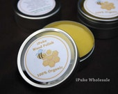 100% Organic wood sealant and polish 25 ml, olive oil & beeswax
