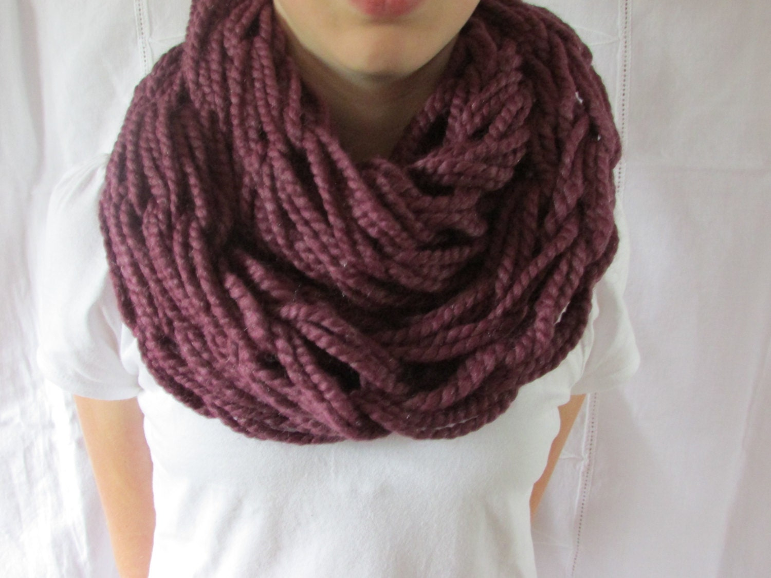Knitting Pattern Infinity Scarf Bulky : Chandeliers & Pendant Lights