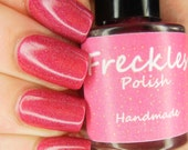 Bloody Mary (Happy Hour Holos Part 2Collection) Linear Holographic 5ml Cruetly Free Handmade Nail Polish