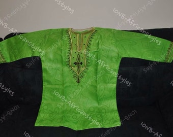 Beautiful  authentic  African print Men's Shirt
