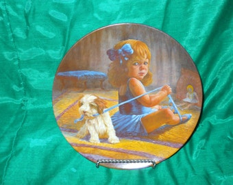 Ballerina's Dilemma collector's plate from original oil by Gregory Perillo