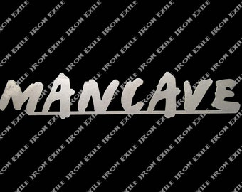 Mancave Metal Sign