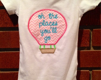 oh the places you'll go, baby / infant / toddler, Onesie / Bodysuit