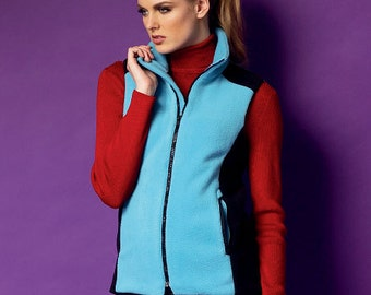 Butterick Sewing Pattern B5957 Misses' Vest