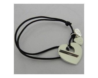 """Bracelet heart charm """"You & me"""""""
