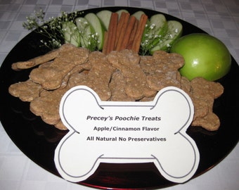 Apple / Cinnamon Dog Biscuits - All Natural and Homemade
