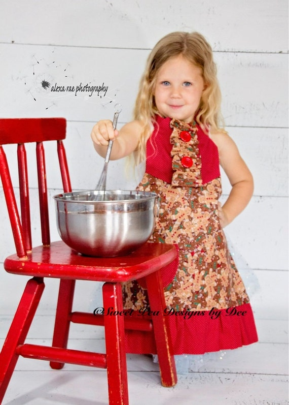 Items Similar To Holiday Apron Christmas Gift Toddler