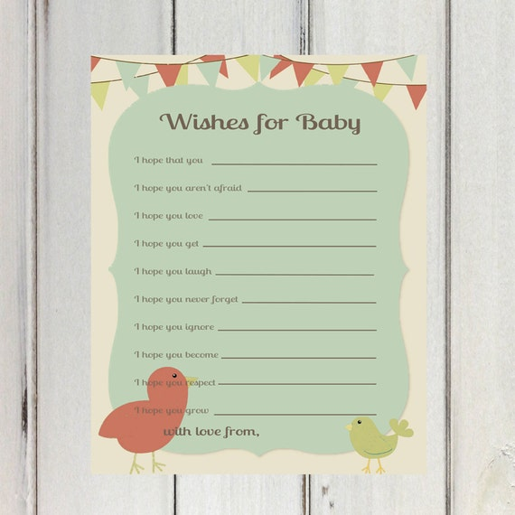 baby shower printable flags wishes for baby neutral wishes for baby