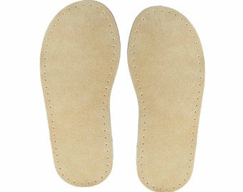 Suede Slipper Soles
