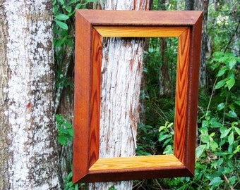 rustic 12x18 frame handmade from beautiful red cedar wood large 12x18 picture frame opening is matted with naturally decorative cedar wood