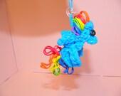 Rainbow Dash Rubber Band Loom Charm