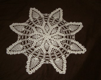 New Hand Crocheted Doily