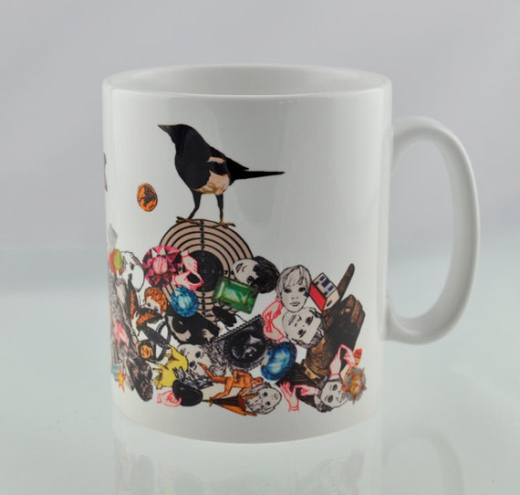 Two For Luck Magpie Mug