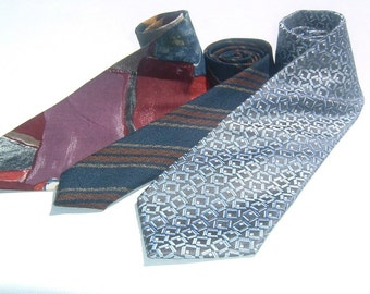 80s   Handsome 3 Men's Neckties