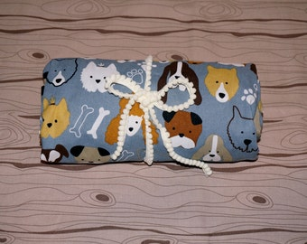 Dog Gone Cute fitted crib/toddler sheet