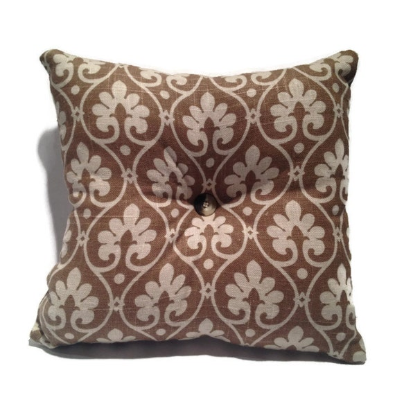 Light Brown Decorative Throw Pillow Accent Pillow by Thrillows