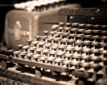 Fine Art Photography - Vintage Typewriter
