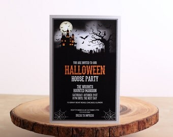 Halloween Party Invitations, Halloween Invitations - look 04