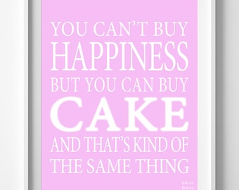 Cake Images And Quotes : Popular items for cake quote on Etsy