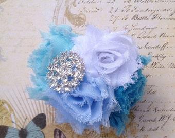 Frozen Women's Chiffon Flower Cuff