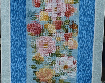 Fractured Flowers Quilt