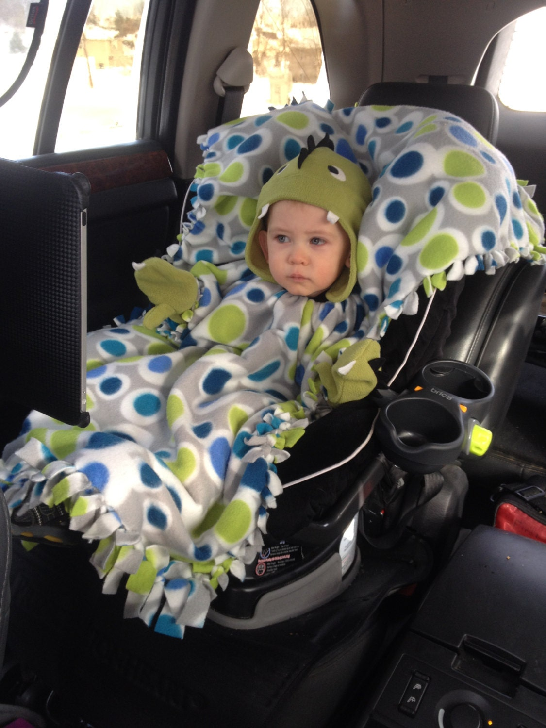 A Blanket Coat Car Seat Cover Baby Toddler Blanket And Coat