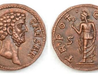 Roman Æ Dupondius of Aelius Ceasar