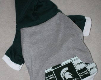 Michigan State University Dog Hoodie / Personalization Available!