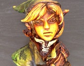 Zelda: Link Smoke Pipe - Handmade