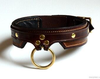 Leather Collar Bdsm 100