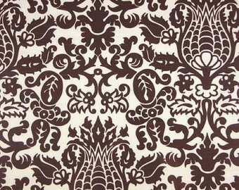 Premier Prints Amsterdam Slub Chocolate/White Fat Quarter