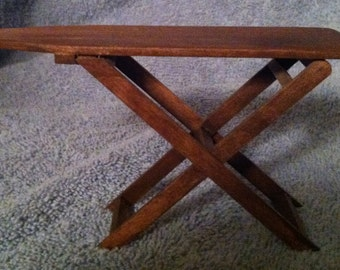 """Doll House Ironing Board Handmade to Scale.1""""=1' scale FREE SHIPPING"""