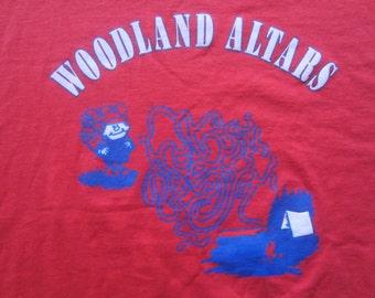 Vintage Woodland Altars Camping Hiking T Shirt