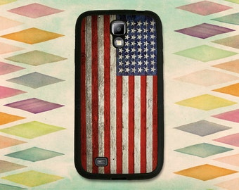 Vintage American Flag Case For The Samsung Galaxy S4 or S5