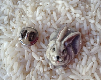 Mini Rabbit Hat Pin