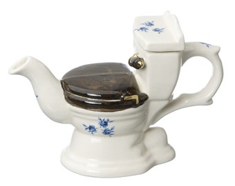The 'At Your Covenience' one cup WC Teapot