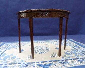 miniature dollhouse colonial table