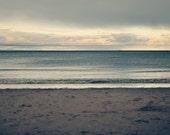 Portobello Layers, original fine art photography, print, nature, 8x12, square, scotland, edinburgh, sea, water, sky, sand, minimal