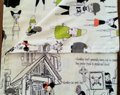 It's the Zombie Apocalypse ! * Receiving Baby Blanket Cotton Halloween Costume Possibilities!