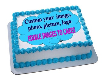Made to order Custom edible images