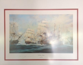 "Robert Taylor ""The Battle of Trafalgar"""