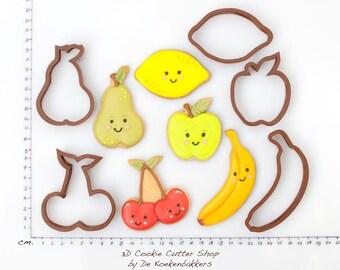 Fruit Cookie Cutter Set