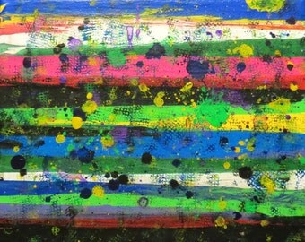 """abstract #14  8""""x10"""""""