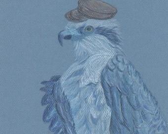 Colored pencil illustration (original)