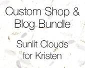 Custom Shop & Blog Bundle