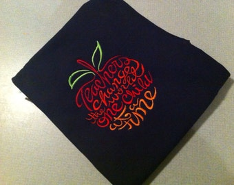 Teacher Apple Shirt