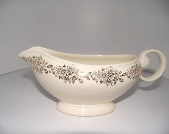 Vintage Taylor Smith Taylor TST gravy bowl China