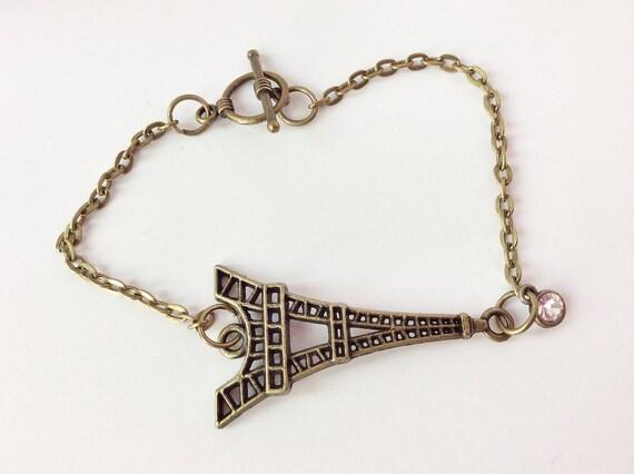 eiffel tower bracelet eiffel tower jewelry charm jewelry