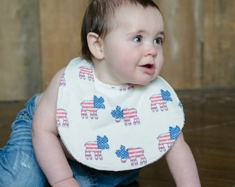 American Moose Bourgeois Baby Bib for Babies & Toddlers